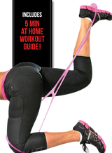 image-main:Sweat Vest, Sweat Cream, and Resistance Band Bundle - Pink Hard