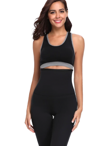 High Waist Body Shaper Sweat Leggings
