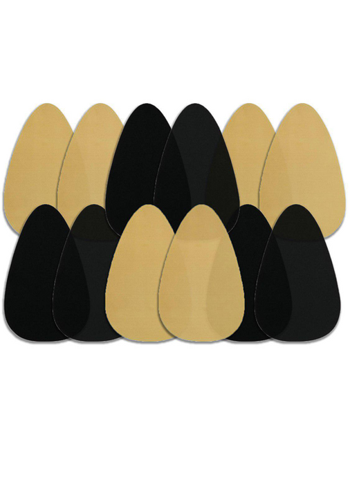 image-main:Bra Shape Tape - Black & Beige Bundle Of 6