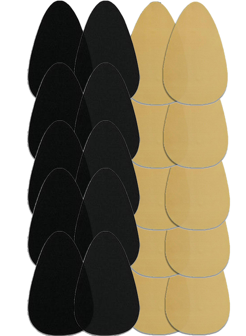 image-main:Bra Shape Tape - Black & Beige Bundle Of 10