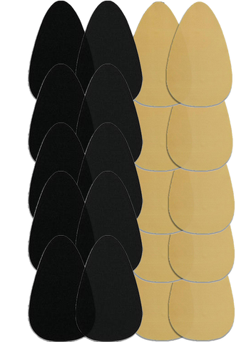Bra Shape Tape - Black & Beige Bundle Of 10