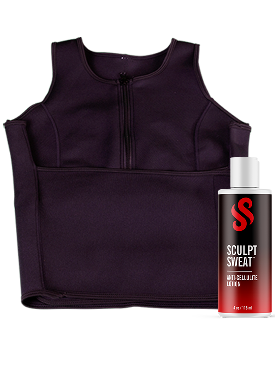 image-main:Sweat Vest + Anti-Cellulite Lotion Bundle