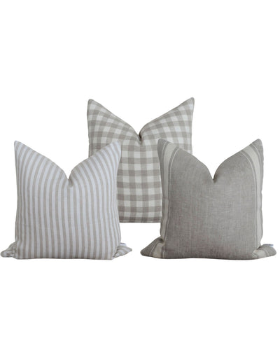 Covers with wording fabric swatcg