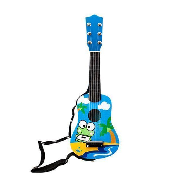 21 Inch Wooden 6 Strings Guitar For Toddlers