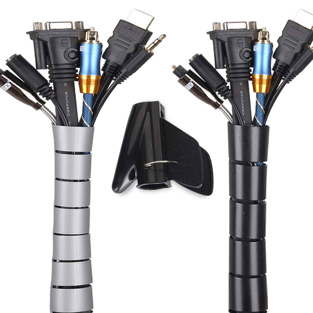 Cable Wrap Organizer - The Ultimate Cable Management Solution