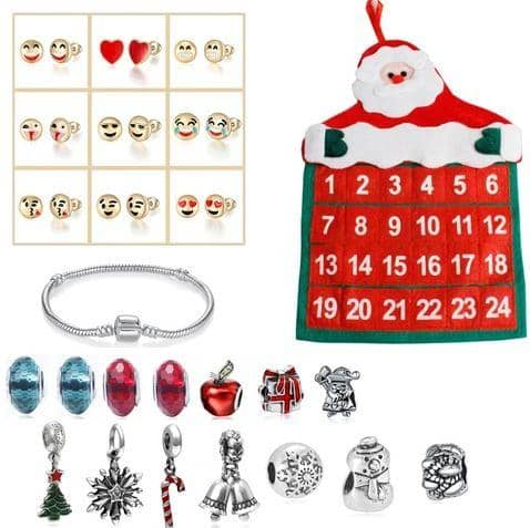 Christmas DIY Surprise Bracelet Gift Box