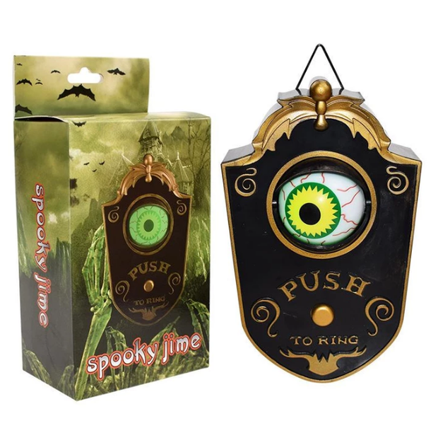 Spooky Animated Eyeball Doorbell