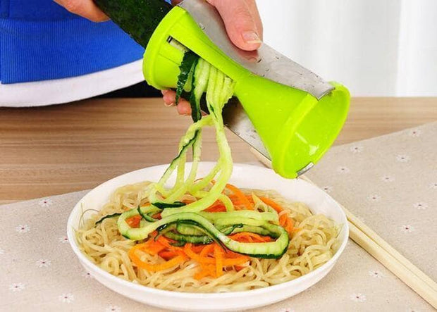Newest 4-Blade Spiral Vegetable Slicer