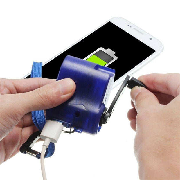 Portable Hand Crank Phone Charger