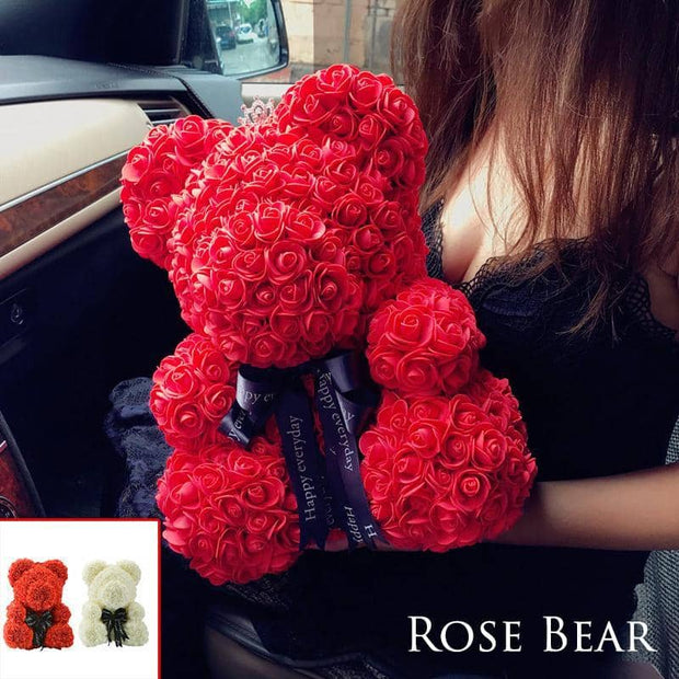 Handmade Rose Bear - The Best Gift For The Loved Ones In 2019