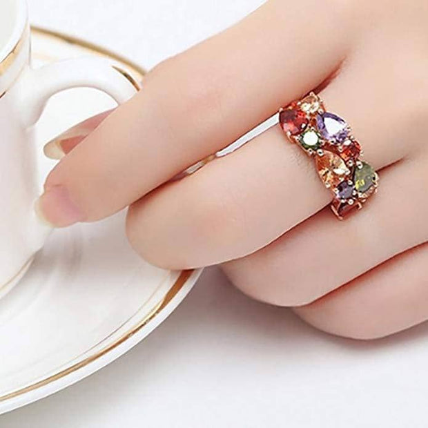 Rose Gold Color Mona Lisa Ring
