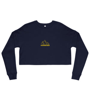 "Open image in slideshow, ""Sierra"" Crop Sweatshirt"