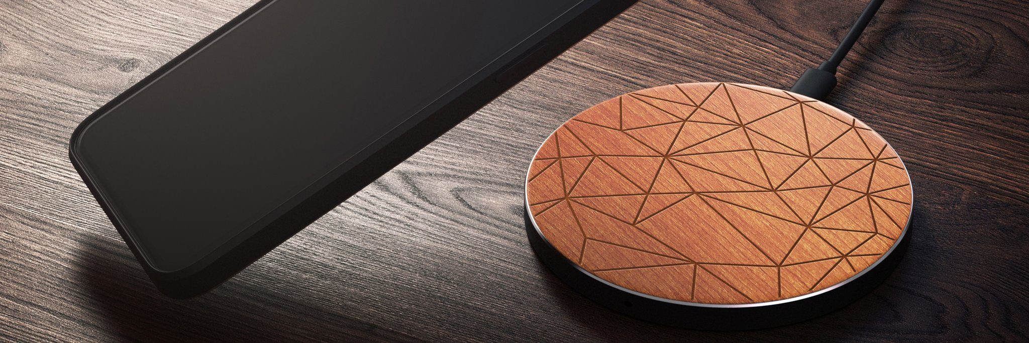 real-wood-wireless-charger