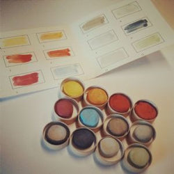 Turner Palette 18C Watercolour Disc Set