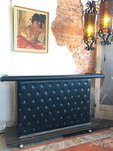 1970s Tufted Vinyl Bar