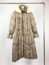 1970s Parka Fur trim hood • medium-small