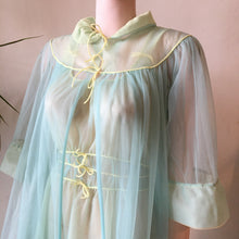 My Rose sheer nightgown & robe • smal