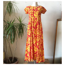 70s Mode O Day Hawaiian Dress • Medium