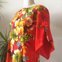 1960s Hawaiian Dress by Reef Hawaii • Med.
