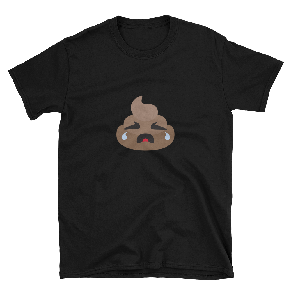 Crying Poop Unisex T-Shirt