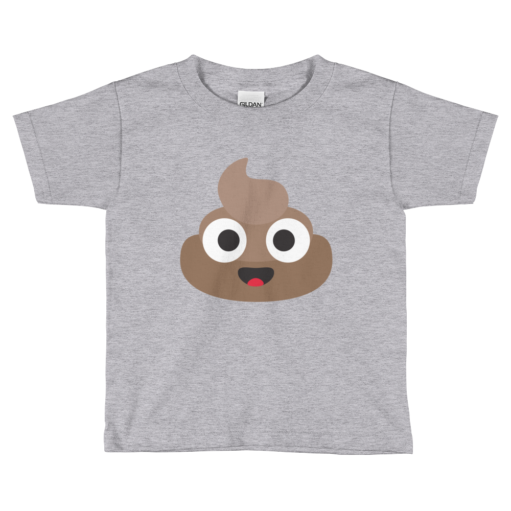 Happy Poop Kids Short Sleeve T-Shirt