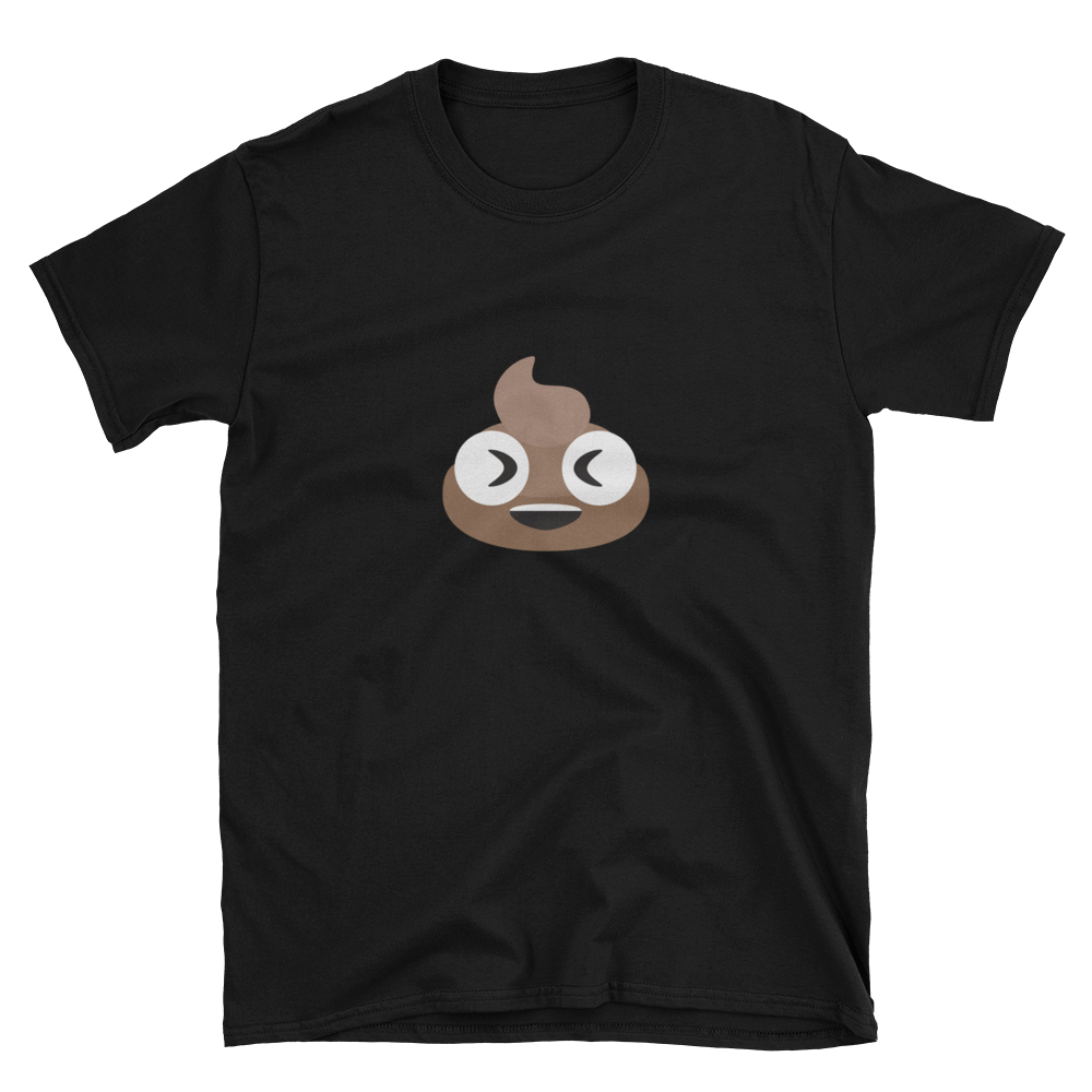 Laughing Poop Unisex T-Shirt