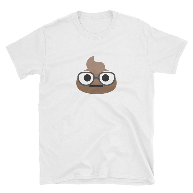 Glasses Poop Unisex T-Shirt