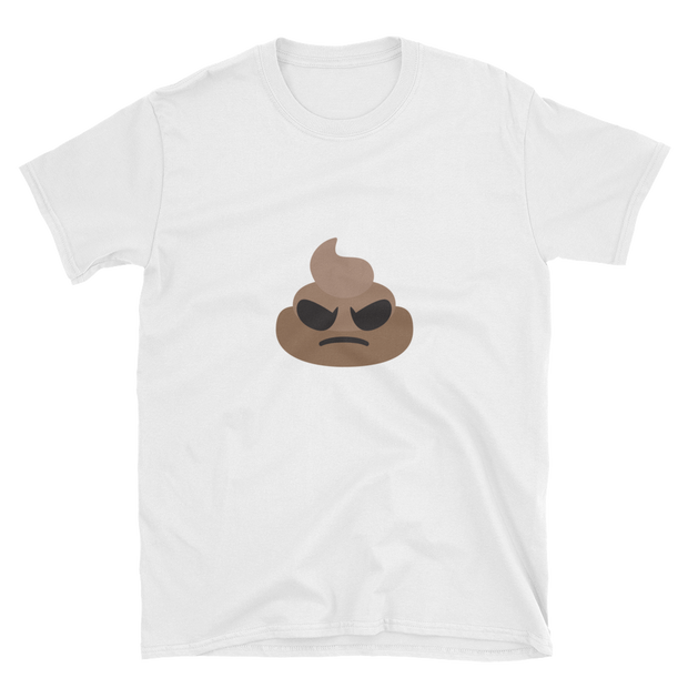 Angry Poop Unisex T-Shirt