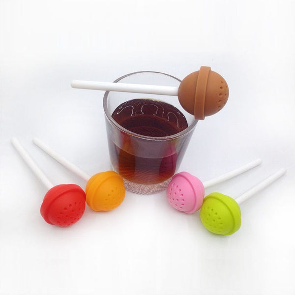 Silicone Lollipop Tea Infuser - The Dad Guy