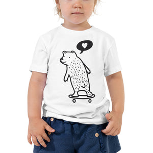Daddy Bear Toddler Short Sleeve Tee