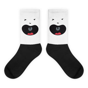Cry Baby Black foot socks - The Dad Guy