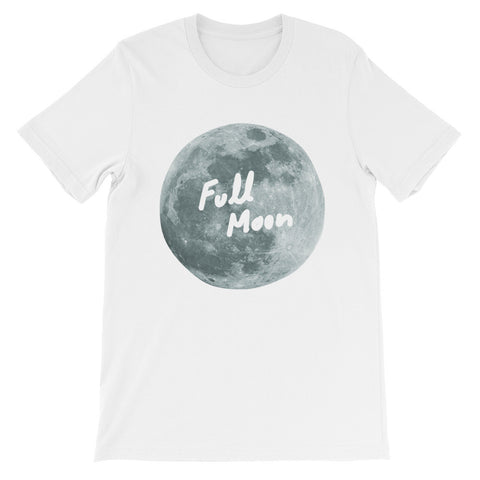 Full Moon Unisex short sleeve t-shirt - The Dad Guy