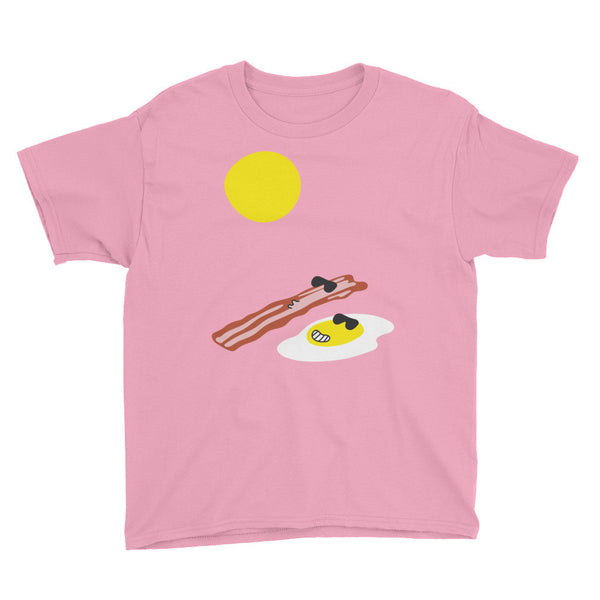 Eggs and Bacon Youth Short Sleeve T-Shirt - The Dad Guy