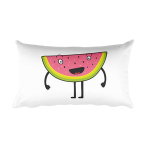 Happy Melon Rectangular Pillow