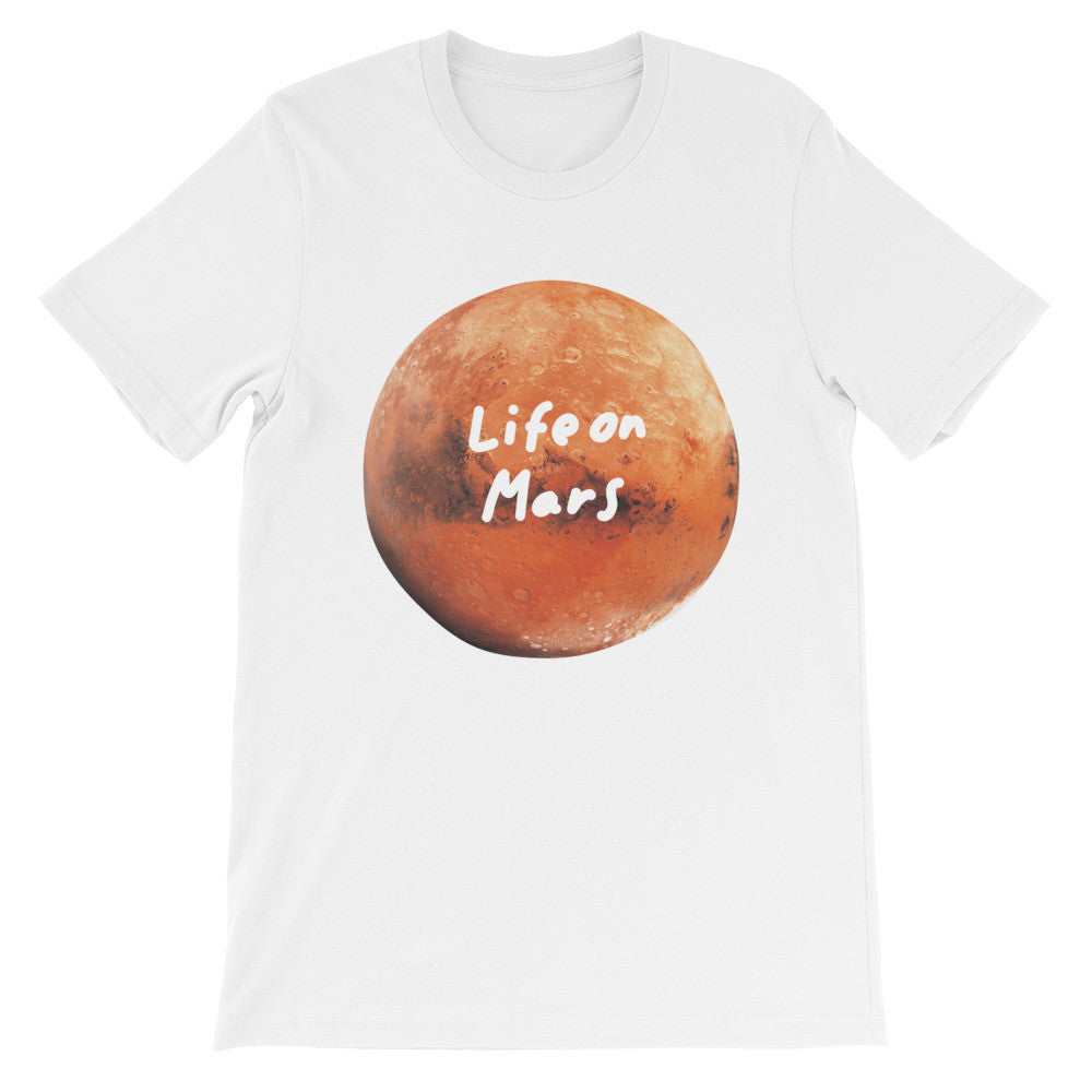 Life on Mars Unisex short sleeve t-shirt - The Dad Guy
