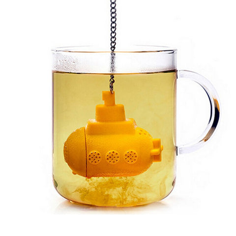 Herbal Submarine Silicone Tea Infuser - The Dad Guy