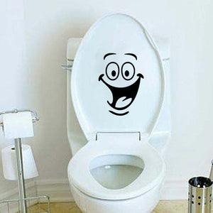 Funny Decorative Cartoon Stickers for Toilet / Bathroom