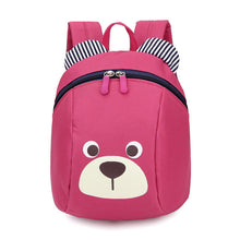 Cute Bear Toddler Backpack with Safety Leash