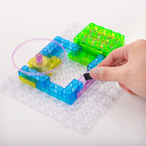 Electronic DIY Circuit Building Blocks