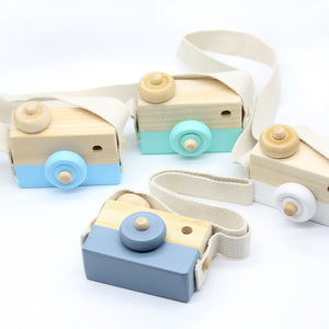 Kids Creative Wooden Toy Camera