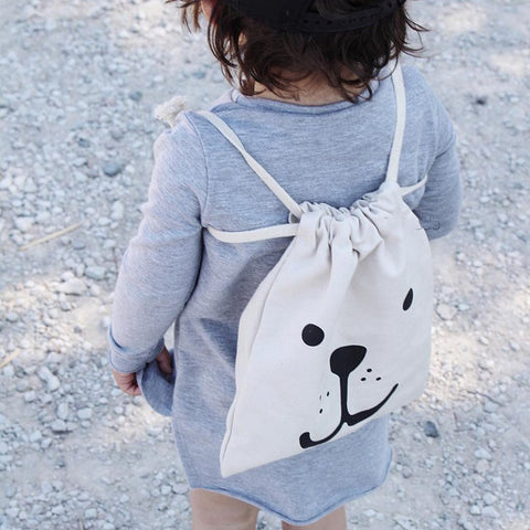 Cute Baby Canvas Bag