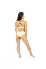 Load image into Gallery viewer, Nude Suede Pole Outfit