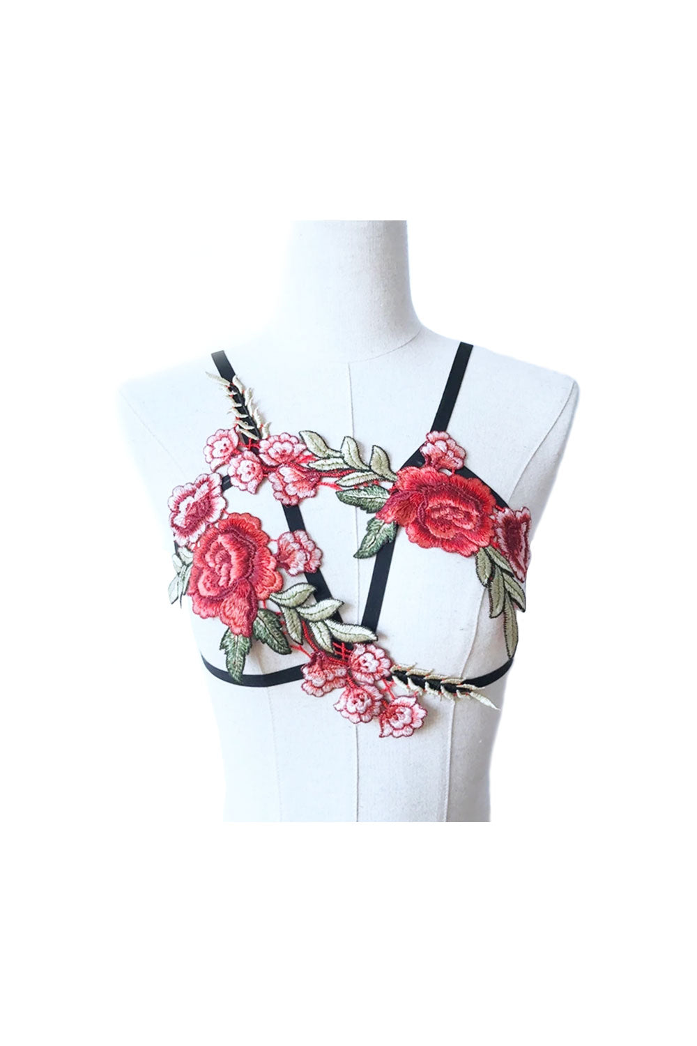 Top Harness with flowers