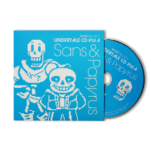 MUSICエンジン UNDERTALE CD  Vol.4: Sans & Papyrus