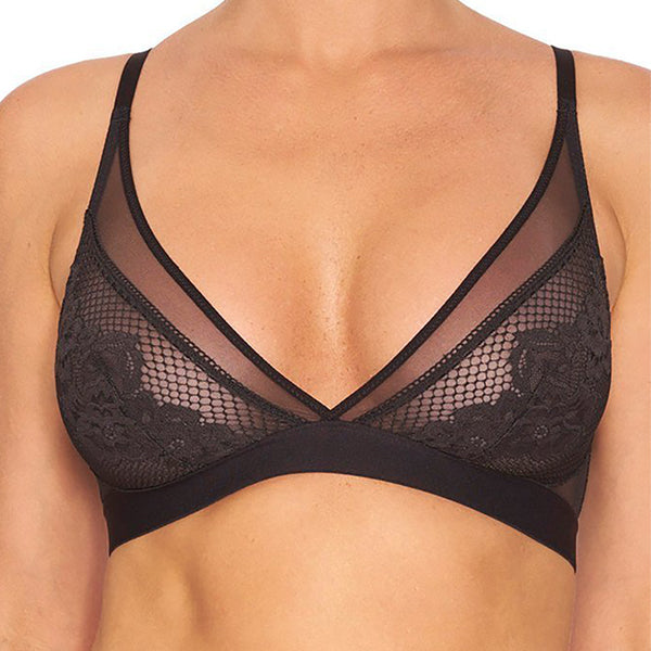 Addiction Nouvelle Tootsie Roll Bra in Black