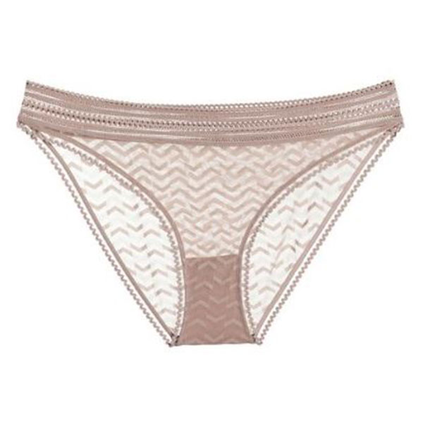 Else Boomerang Bikini Brief EC-378U in taupe