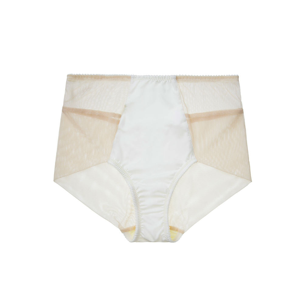 Fortnight High Waist Luna in champagne/ivory