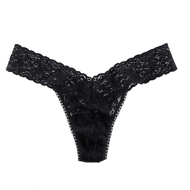 Hanky Panky Original Rise Thong 4811 in black