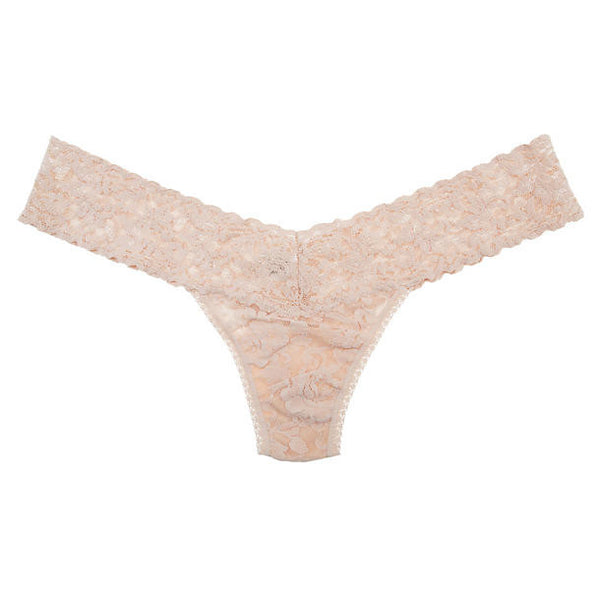 Hanky Panky Low Rise Thong in Chai