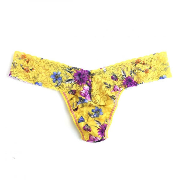 Hanky Panky Rapunzel Low Rise Thong in Yellow